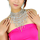 Polystyrene With Beading Belly Dance Necklace More Colors Available