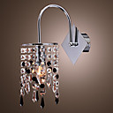 Wall Light with Elegant Crystal Drop