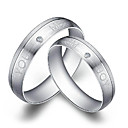 Mooie 925 Sterling Zilver Couple's Ringen