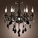 Lmpara Chandelier de Cristal con 6 Bombillas - WERL