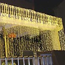 8Mx3M Gold LED String Lamp with 800 LEDs - Christmas & Halloween Decoration