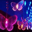 3Mx1.65M Seven Butterfly color de la lmpara LED de cadena con 60 LEDs - Decoracin de Navidad y Halloween