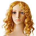 Mono Top 100% Indian Remy Blonde Curly Wig