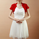Short Sleeve Lace Wedding/Evening Jacket/Wrap (More Colors)