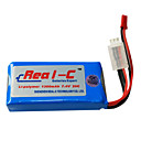 Real-C High Rate 1300mAh 7.4V 2S 20C Li-Polymer Battery