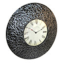"24""Antique Style Wall Clock in Metal 8238006"