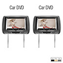 ACURA VISION - 9 Inch Touch Screen Headrest Car DVD Player with Game(1 Pair)