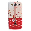 Eiffel Tower Design Hard Case for Samsung Galaxy S3 I9300