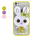 3D Design Rabbit Design for iPhone 5 (Assorted Colors)