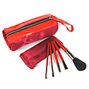 5 x Festival Brush Red Portable Juego con dos bolsas