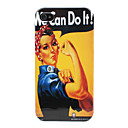 Etui Rigide Motif Femme pour iPhone 4/4S