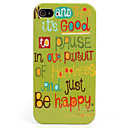 Scrawl Style Hard Case for iPhone 4/4S