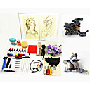 2 Iron Tattoo Machine Guns Kit for Lining and Shading
