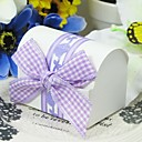 Classic Favors Boxes With Ribbon Bow (Set of 12)