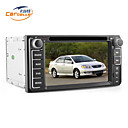 6,2 polegadas 2DIN carro dvd player para toyota com gps, tv, jogos, bluetooth