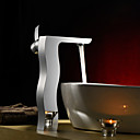 Sprinkle® by Lightinthebox - Single Handle Centerset Solid Brass Bathroom Sink Faucet(Tall)-Chrome Finish