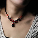 Women's Vintage Agate Natural Flower Choker