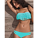 femmes maillots de bain bandeau sans bretelles acacia bleu