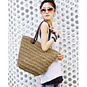 Women's Fashion Woven Satchel