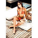 Women's Halter Orange Swimwear