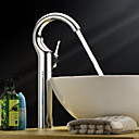 Sprinkle by Lightinthebox - Single Handle Centerset Solid Brass Chrome Finish Bathroom Sink Faucet(Tall)