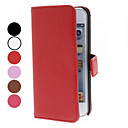Lichee Pattern PU Leather Case with Stand for iTouch 5 (Assorted Colors)
