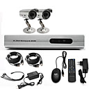 Anko-CCTV System with 2 Outdoor Cameras for Home &amp; Office(For DIY)
