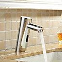 Brass Bathroom Sink Faucet with Automatic Sensor (Cold)