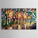 Hand Painted Oil Painting Landscape With Stretched Frame 1211-LS0124