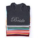 Simple&quot;Bride&quot;Vest (Moer Colors,More Sizes)