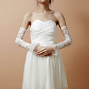 Lace Fingerless Elbow Length Wedding/ Fashion Gloves