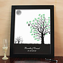 Personalized Fingerprinting Paint - Peaceful Night (Includes 6 Ink Colors And Frame)