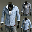 Mannen Denim Slim Shirt