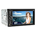 6.2 Inch 2DIN Auto DVD Speler met DVB-T, GPS, RDS, iPod