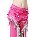 Rendimiento de gasa con cinturn monedas Belly Dance For Ladies Dancewear