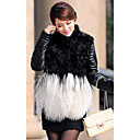 Long Sleeve Lamb Fur/ Tibet Sheep Fur/ Lambskin Leather Casual/Party Jacket
