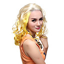 Lace Front High Quality Synthetic Long Curly Assorted Colors Hair Wigs