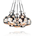 140W Modern Chandelier with 7 Lights and Crystal Decor