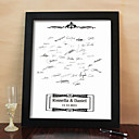 Personalized Signature Frame - Black (Includes Frame)