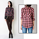 Women's Cotton Check Shirt