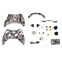 Vervanging Controller Case Shell voor XBOX 360 (White Ghost Head)