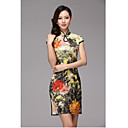 Women's High End Silk Chinese Dress