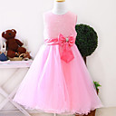 Fabulous Sleeveless Satin/Tulle Wedding/Evening Flower Girl Dress