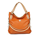 Women's Spring-season Woven PU Satchel(30*32*7cm)