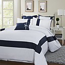Splice Stripe 300TC Twin / Queen / King 3-Piece Duvet Cover Set