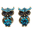 American Fashion Personality Restoring Ancient Owl Earrings