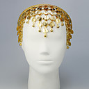 Performance Alloy with Coins Belly Dance Headpiece