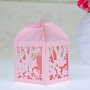 Lovely Bird Laser cut Favor Box - Set Of 12(More Colors)