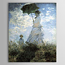 Famous Oil Painting La Promenade by Claude Monet