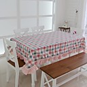 Classic Cotton Multi-color Plaid Table Cloths